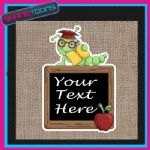 SCHOOL TEACHER GIFT PERSONALISED JUTE SHOPPING BAG 003